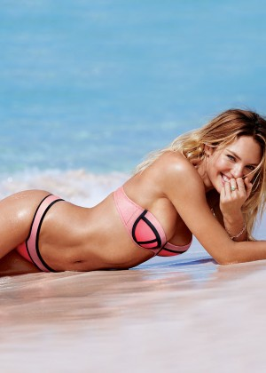 Candice Swanepoel - Victoria's Secret Bikini (April 2015)