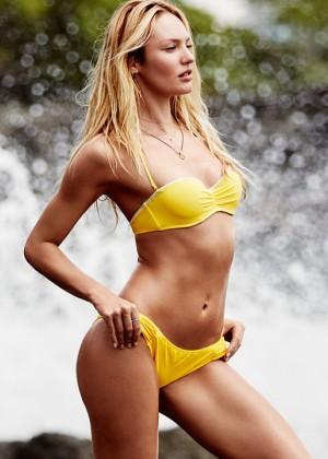 Candice Swanepoel - Victoria's Secret Bikini and Lingerie (January 2016)