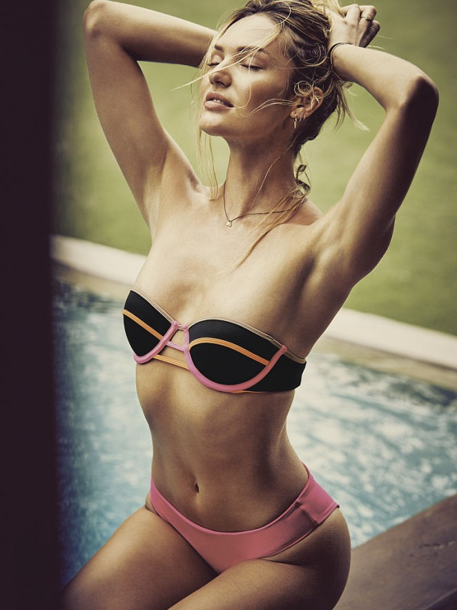 Candice Swanepoel - Victoria's Secret Bikini Photoshoot 2015