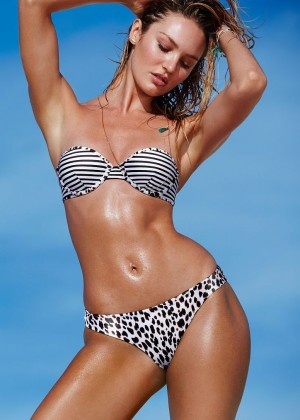 Candice Swanepoel - VS Bikini Photoshoot (July 2015)