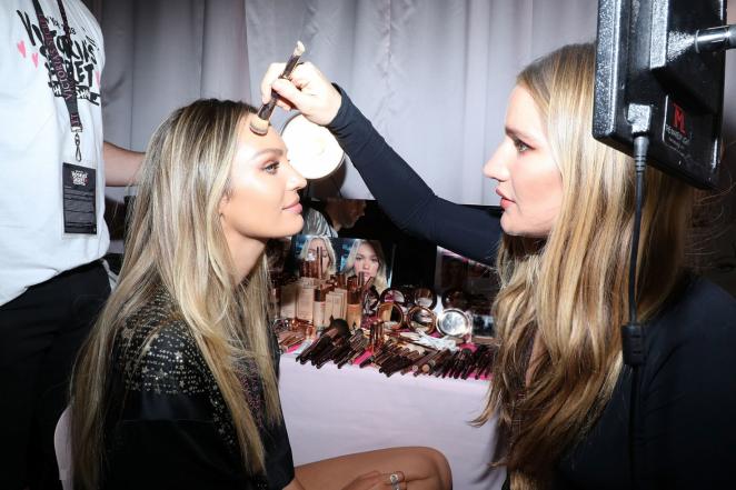 Candice Swanepoel - Victoria's Secret Fashion Show 2018 Backstage in NY