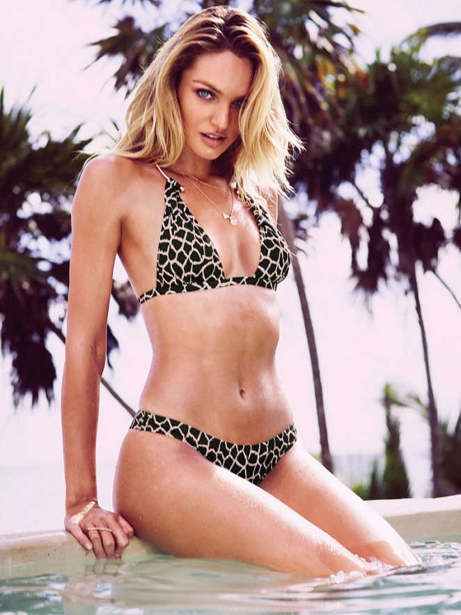 Candice Swanepoel - Victoria's Secret Bikini Photoshoot (March 2015)