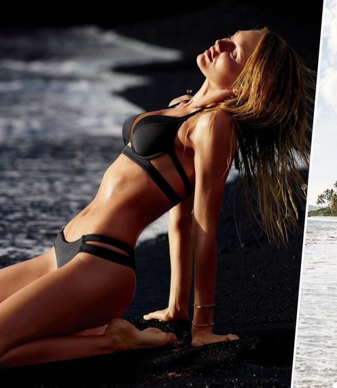 08d46344b257f Candice Swanepoel – Victoria's Secret Swim 2015 V3 Catalog | GotCeleb