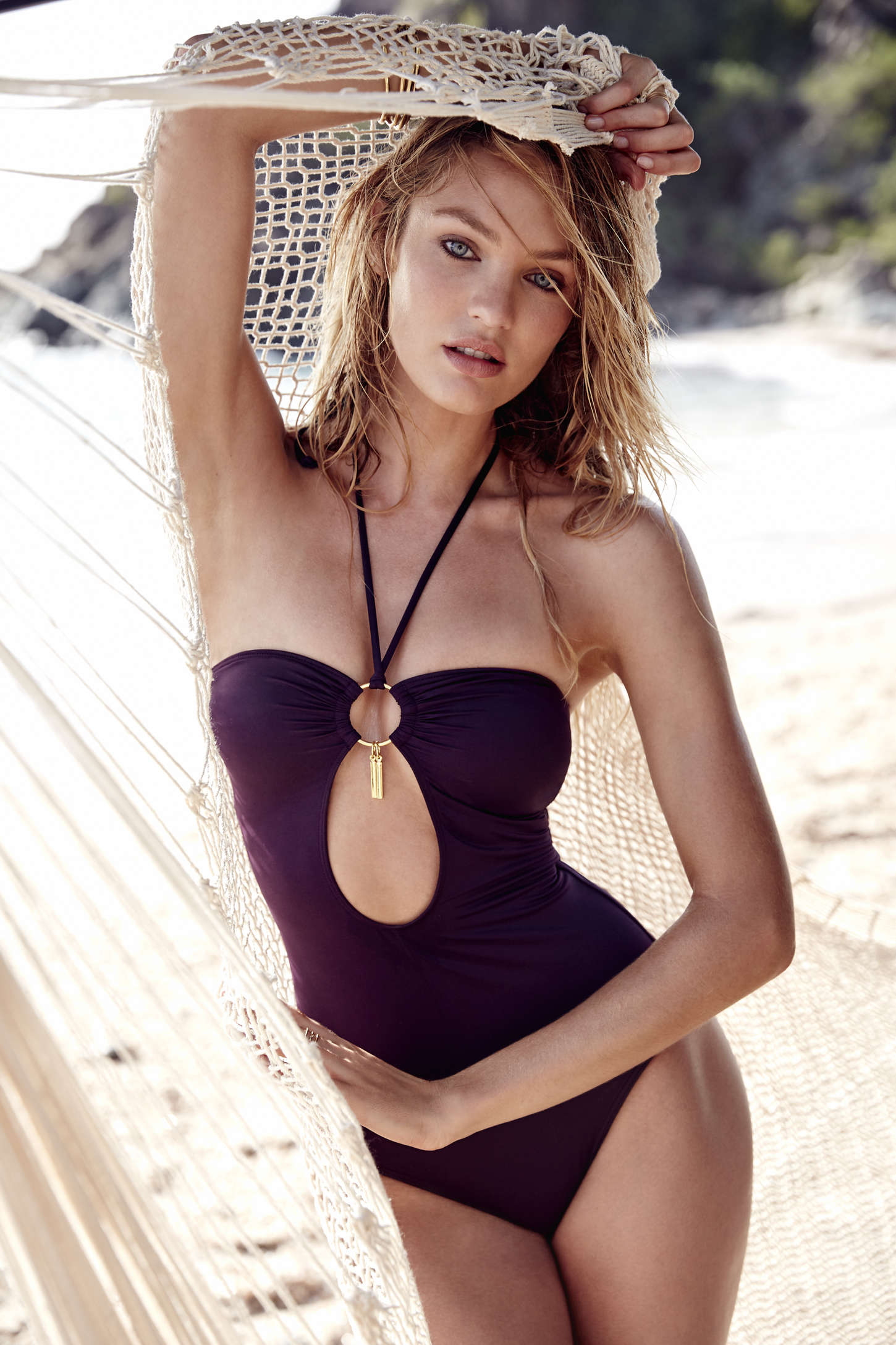 Candice Swanepoel 2015 : Candice Swanepoel: VS Swim Catalog 2015 -04