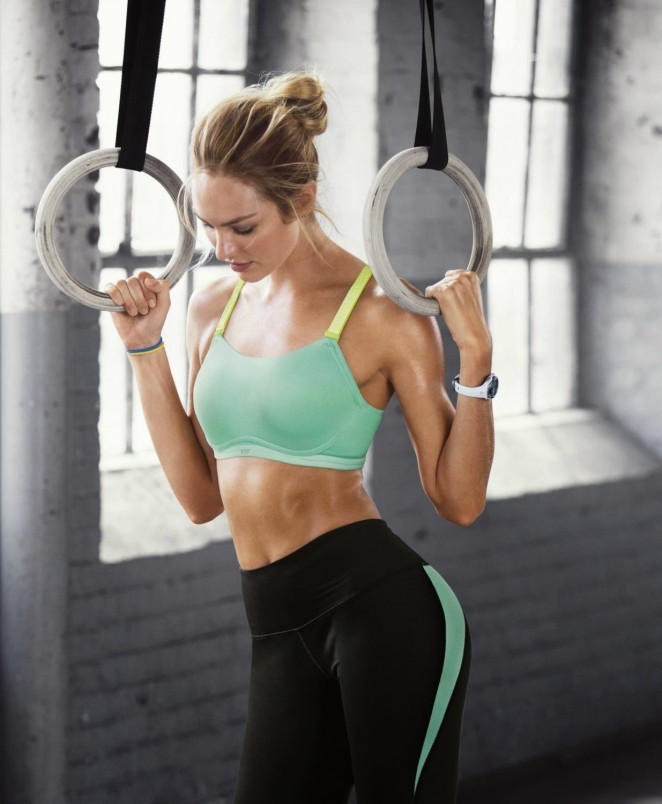 Candice Swanepoel - Victoria's Secret Ultimate Cross-Training Sport Bra