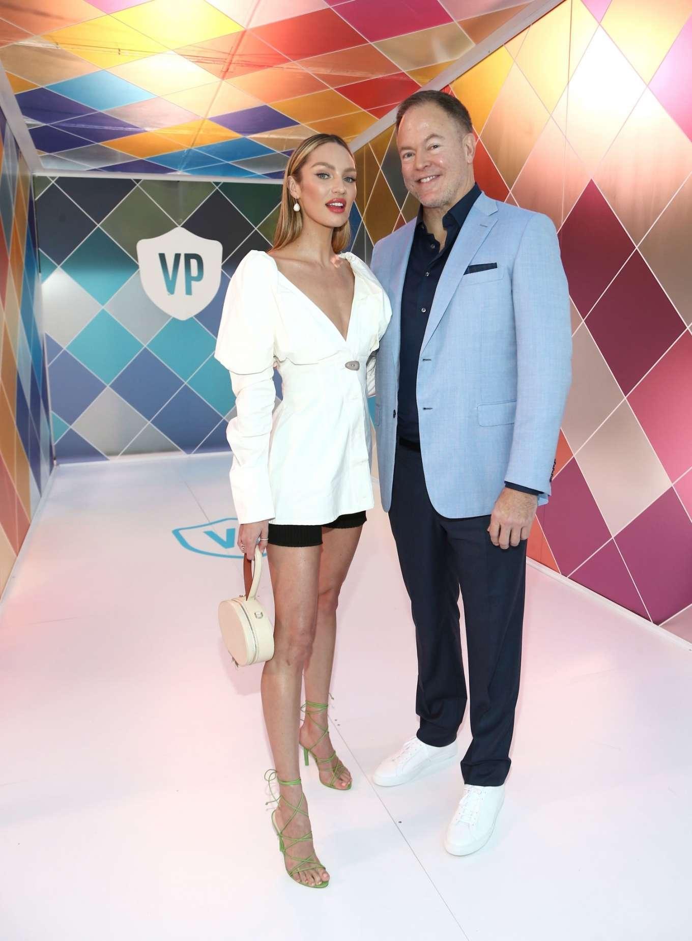 Candice Swanepoel - Vital Proteins Collagen Water Beverly Hills Bash