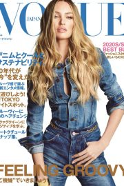 Candice Swanepoel - Vogue Japan Cover (April 2020)