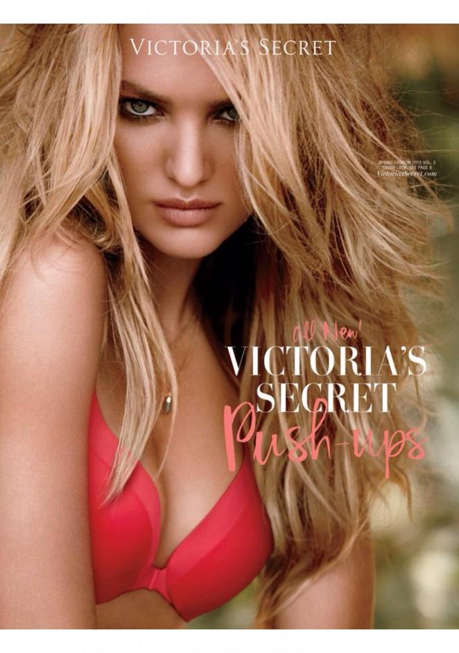 Candice Swanepoel - VS Spring Fashion 2015 Catalog