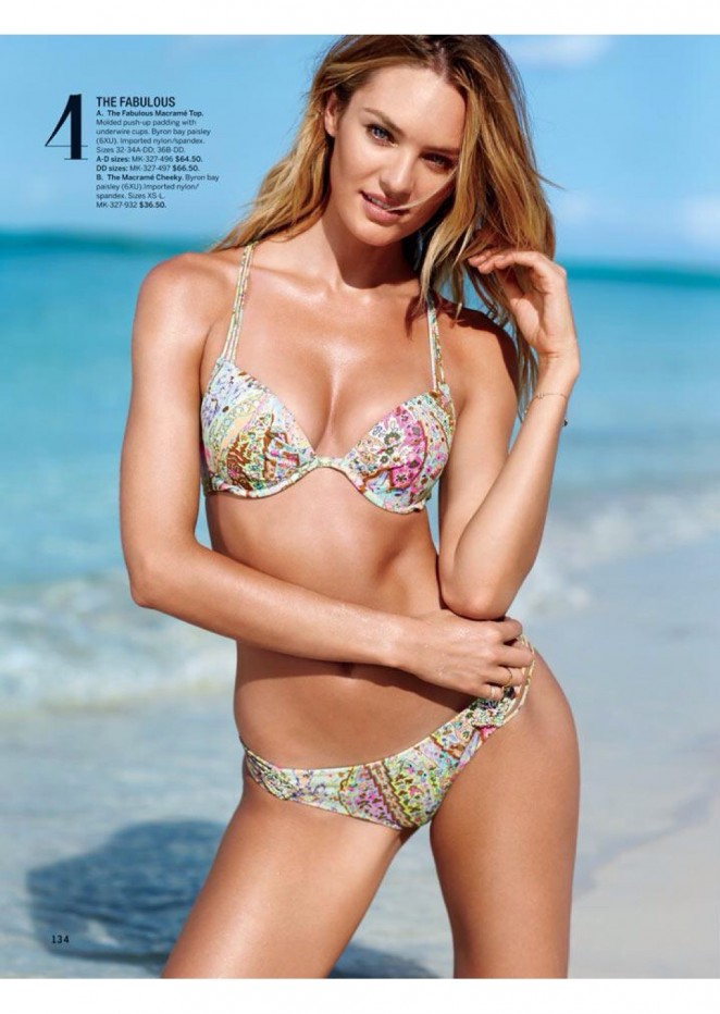 Candice Swanepoel: VS 2015 Catalog -03