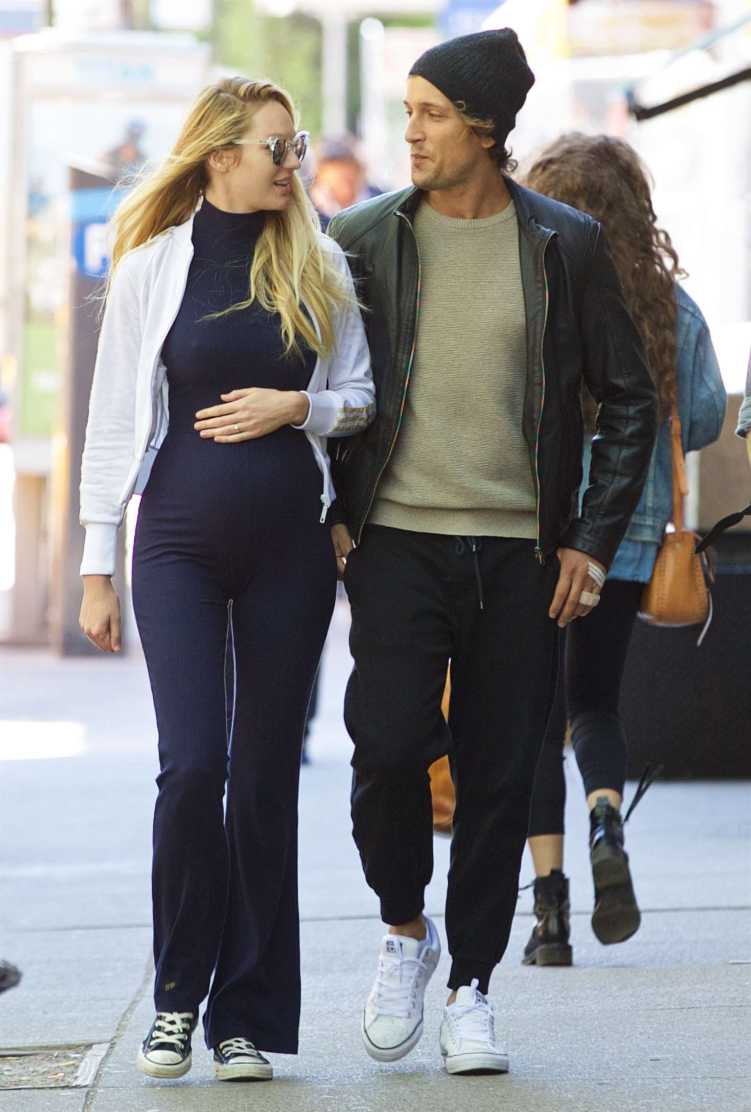 Candice Swanepoel wit fiance Hermann Nicoli Out in NYC