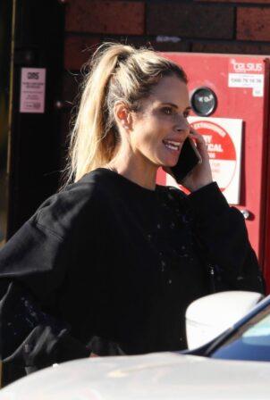 Candice Warner - Arrives in Sydney