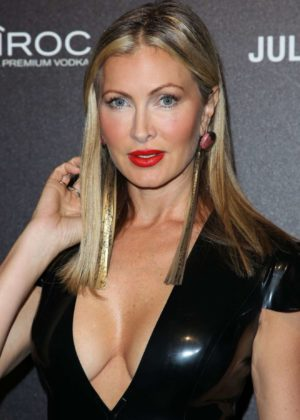 Caprice Bourret - Julien Macdonald Show on 2017 London Fashion Week