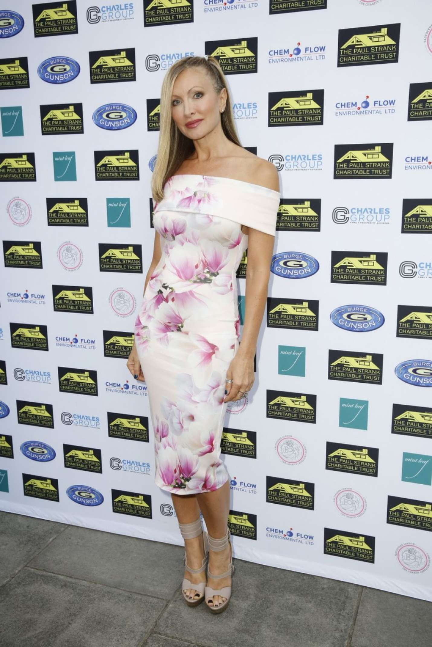 Caprice Bourret - Paul Strank Charitable Trust Summer Party in London