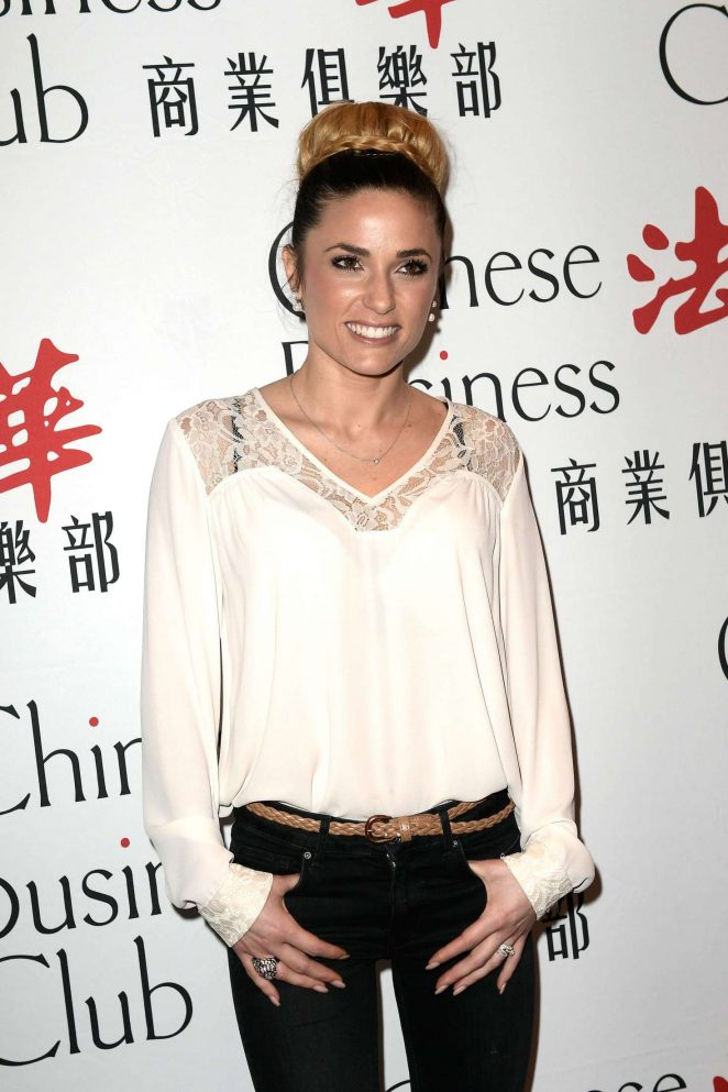 Capucine Anav - Chinese Business Club Lunch in Paris