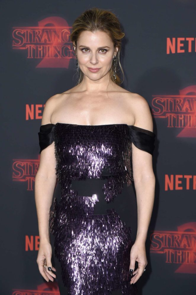 Cara Buono - 'Stranger Things 2' Premiere in Los Angeles
