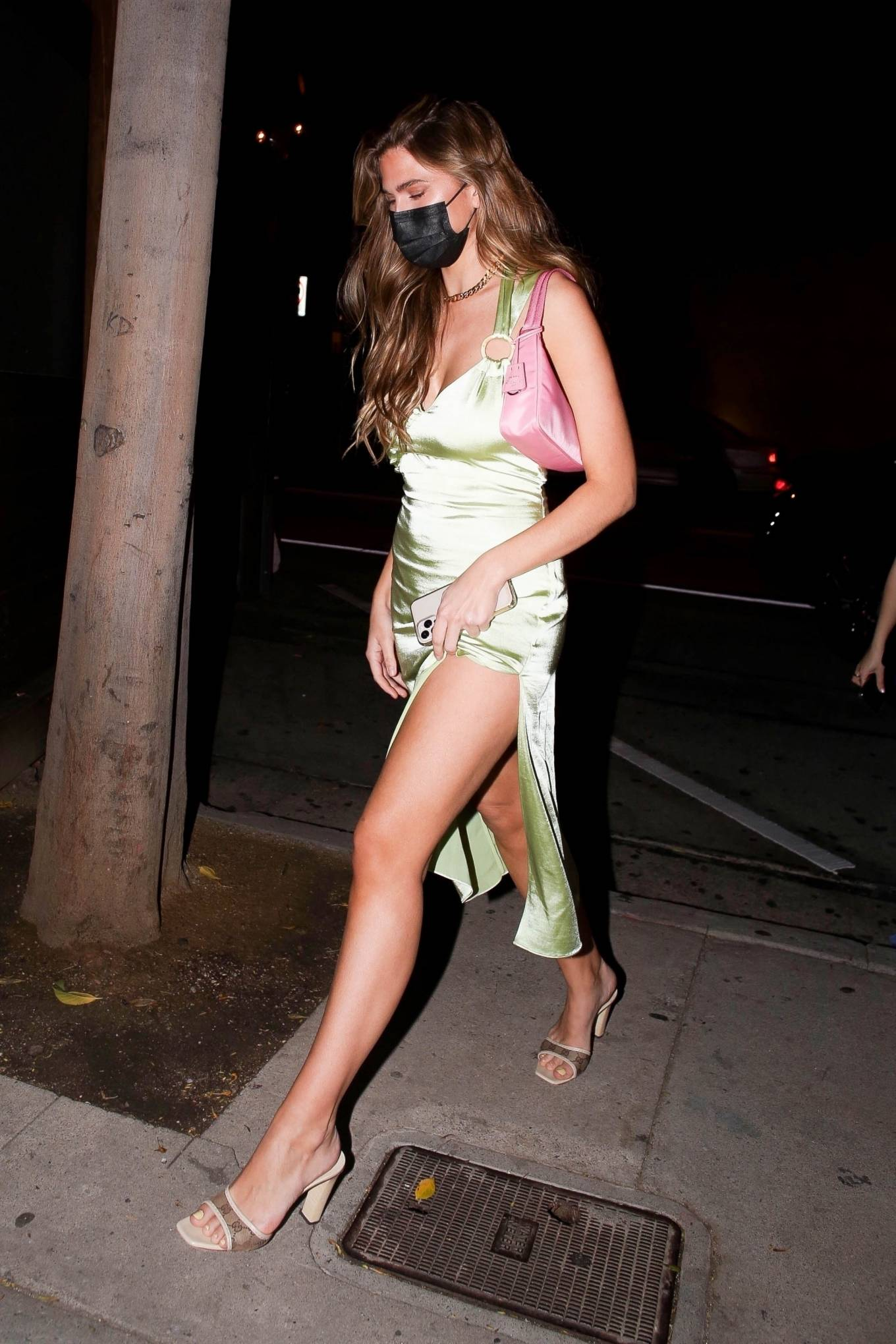 Cara Del Toro 2021 : Cara Del Toro – In dress out for a dinner at Craigs in West Hollywood-02