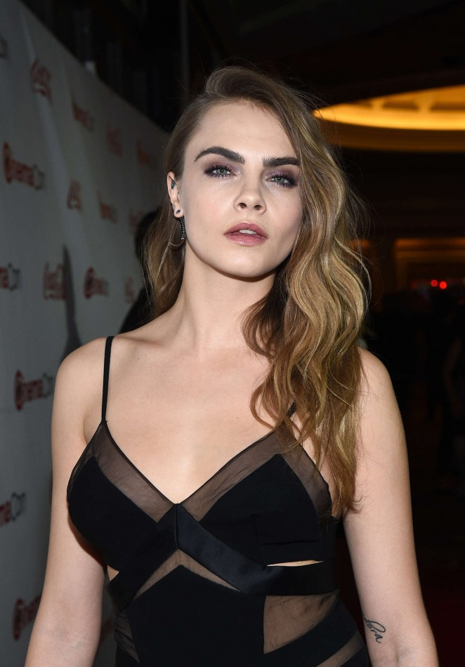 Cara Delevingne - 2015 CinemaCon Big Screen Achievement Awards in Las Vegas