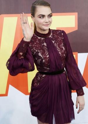 Cara Delevingne - 2015 MTV Movie Awards in LA