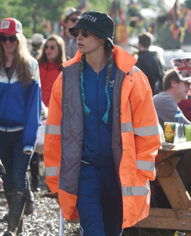 Cara Delevingne - 2016 Glastonbury Festival Day 1 in England