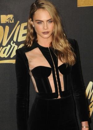 Cara Delevingne - 2016 MTV Movie Awards in Burbank