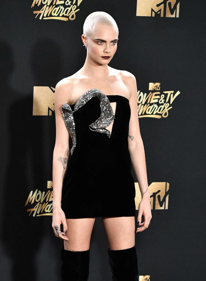 Cara Delevingne - 2017 MTV Movie And TV Awards in Los Angeles