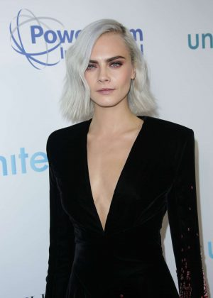 Cara Delevingne - 4th Annual unite4:humanity gala in Los Angeles