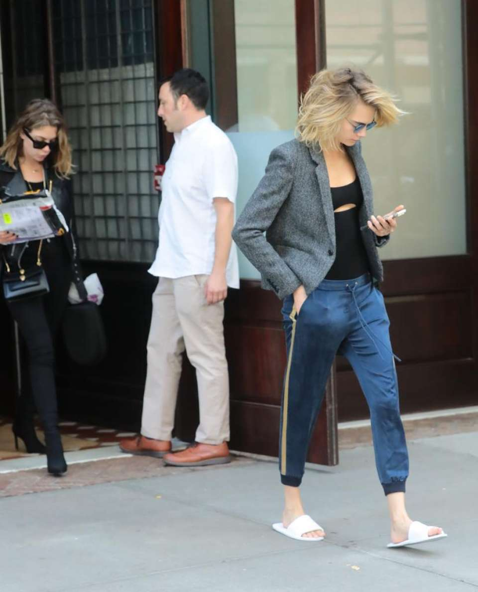 Cara Delevingne and Ashely Benson - Out and about in NYC