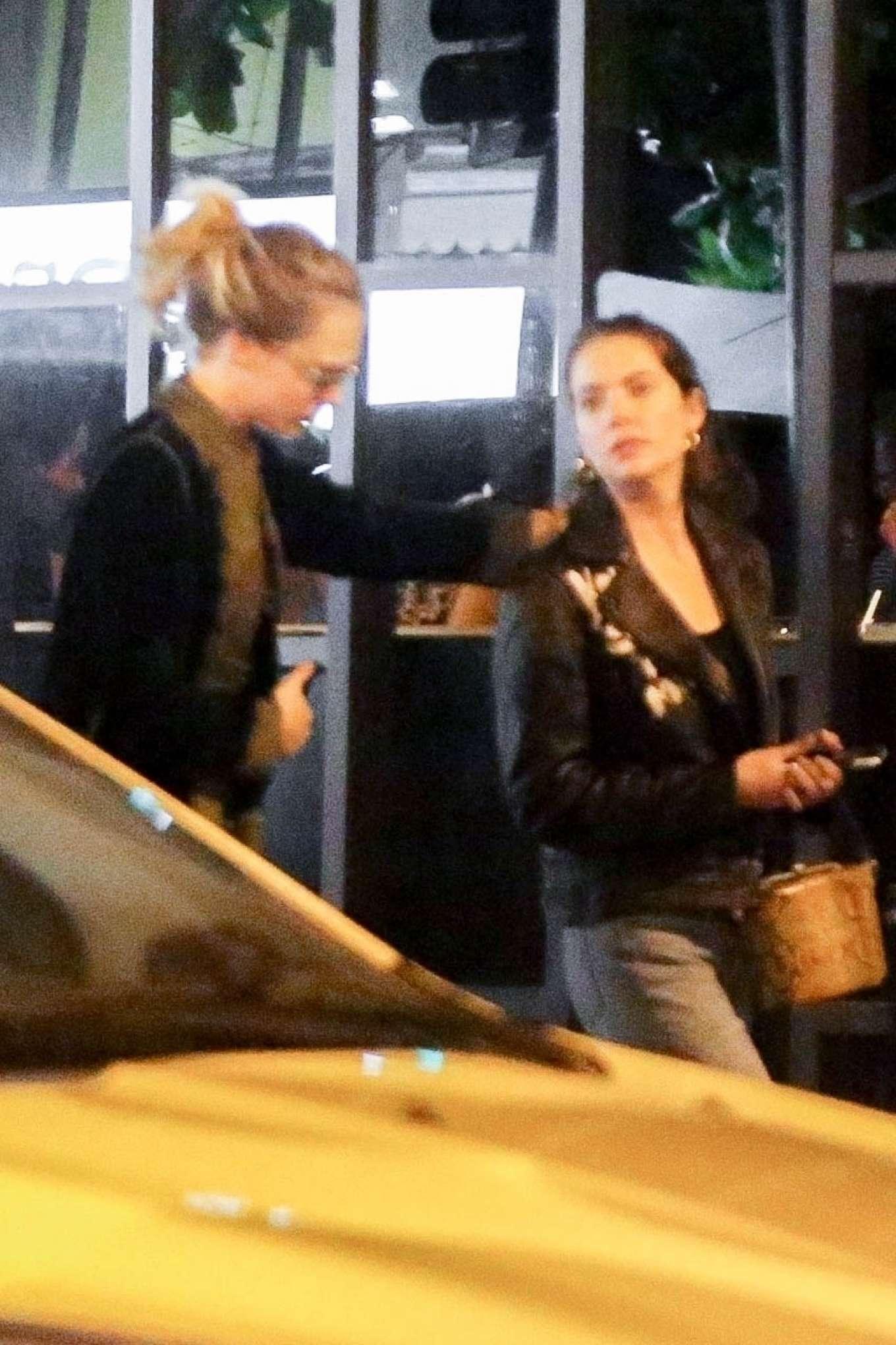 Cara Delevingne 2020 : Cara Delevingne and Ashley Benson – Have dinner at Sushi restaurant-15