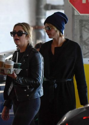 Cara Delevingne and Ashley Benson - Heading out for breakfast in Los Angeles