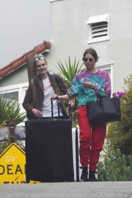 Cara Delevingne and Ashley Benson - Heading out with luggage in Los Angeles
