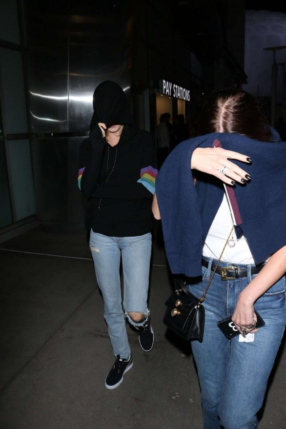 Cara Delevingne and Ashley Benson - Leaves ArcLight Cinemas in Hollywood
