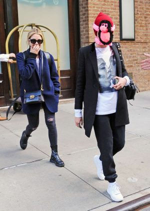 Cara Delevingne and Ashley Benson - Leaving The Greenwich Hotel in NYC