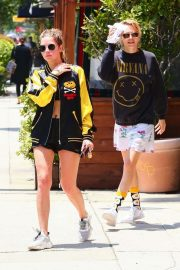 Cara Delevingne and Ashley Benson - Out and about in LA