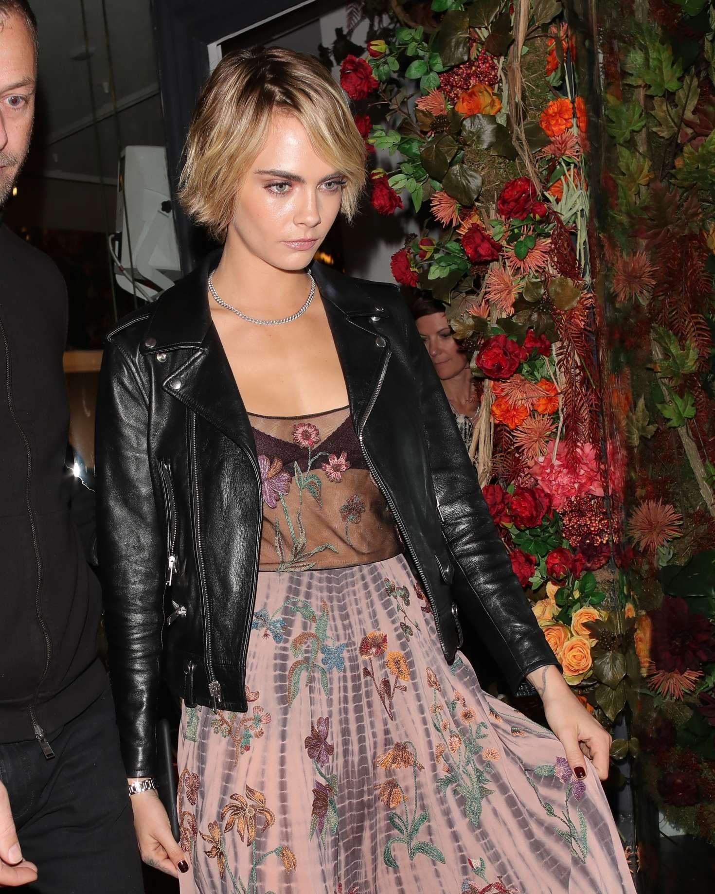 Cara Delevingne at Maddox Gallery Westbourne Grove in London