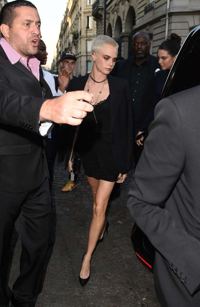 Cara Delevingne: Attends the Vogue Party 2017 -14