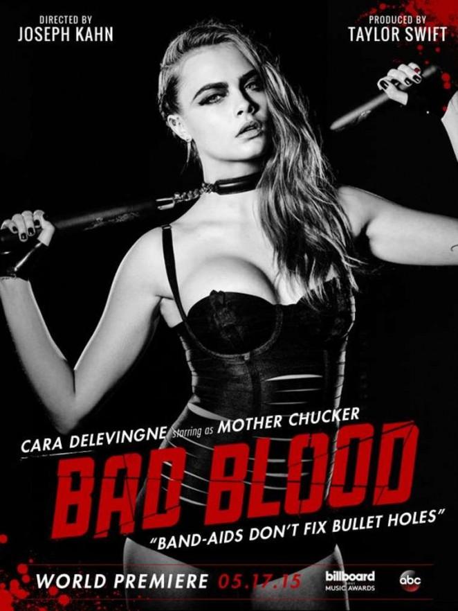 Cara Delevingne - 'Bad Blood' Poster