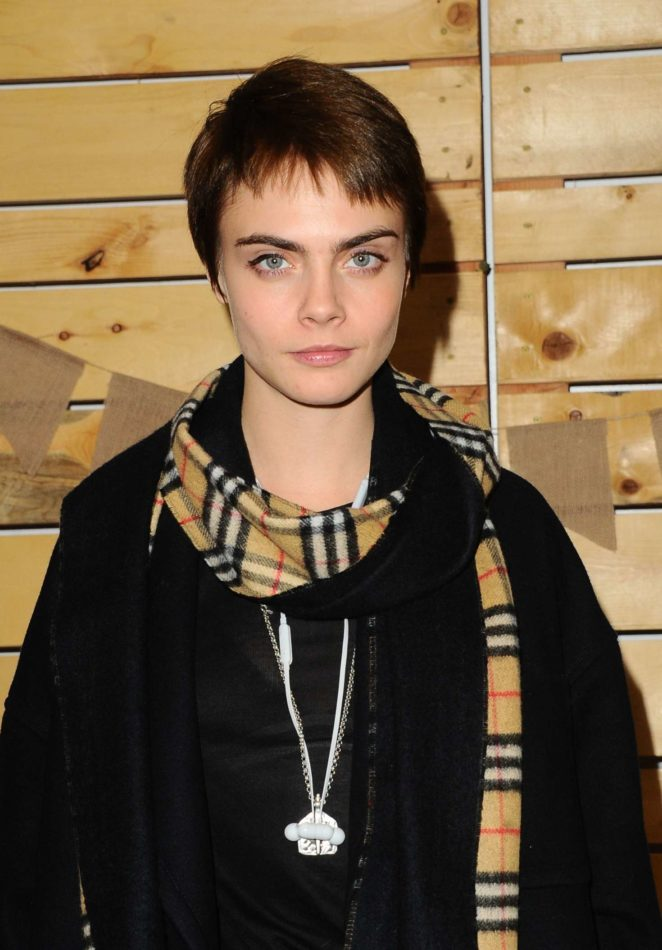 Cara Delevingne - Bollare Holiday Harvest x Timberland Fall Style Event in Beverly Hills