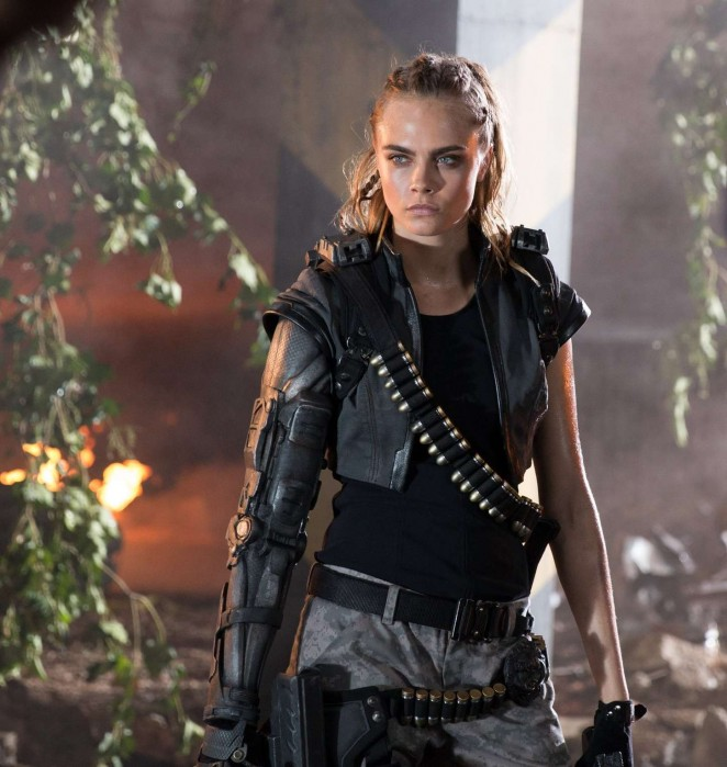 Cara Delevingne - Call of Duty 'Black Ops III' Trailer Photoshoot 2015