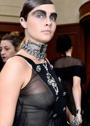 Cara Delevingne - Chanel Fashion Week 2015 in Paris