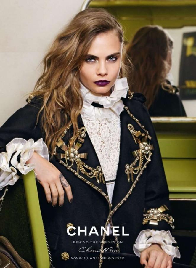 Cara Delevingne - Chanel Pre-Fall 2015 Ad