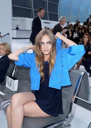Cara Delevingne - Chanel Show at Paris Fashion Week in Paris