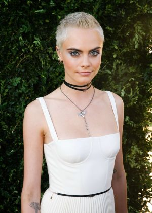 Cara Delevingne - Christian Dior 70th Anniversary Exhibition Party in Paris