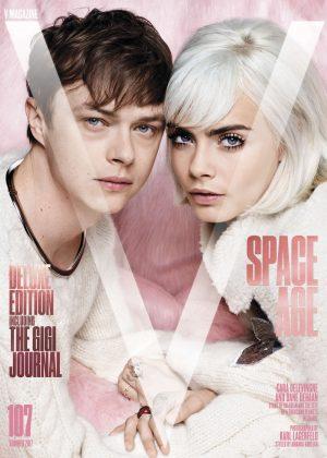 Cara Delevingne & Dane DeHaan by Karl Lagerfeld V #107 Summer 2017