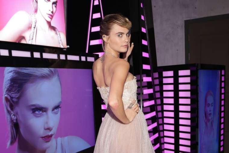 Cara Delevingne 2019 : Cara Delevingne: Dior Addict Stellar Shine Launch -01