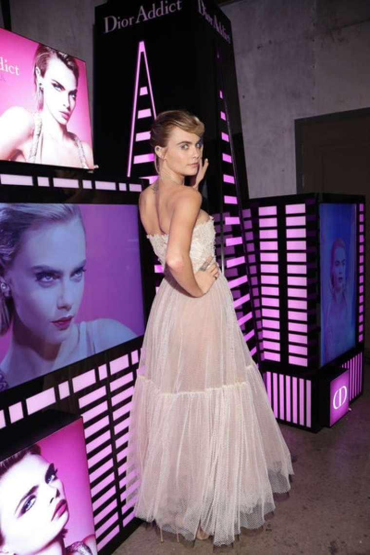 Cara Delevingne 2019 : Cara Delevingne: Dior Addict Stellar Shine Launch -03