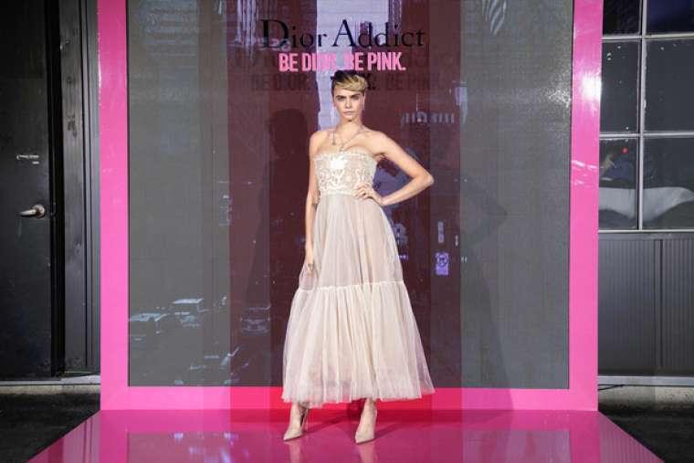Cara Delevingne 2019 : Cara Delevingne: Dior Addict Stellar Shine Launch -04
