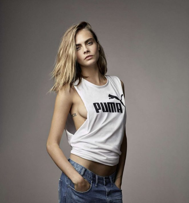 Cara Delevingne - 'DO YOU' Collection for Puma (Spring/Summer 2017)