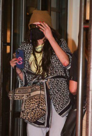 Cara Delevingne - Dressed in DIOR in New York