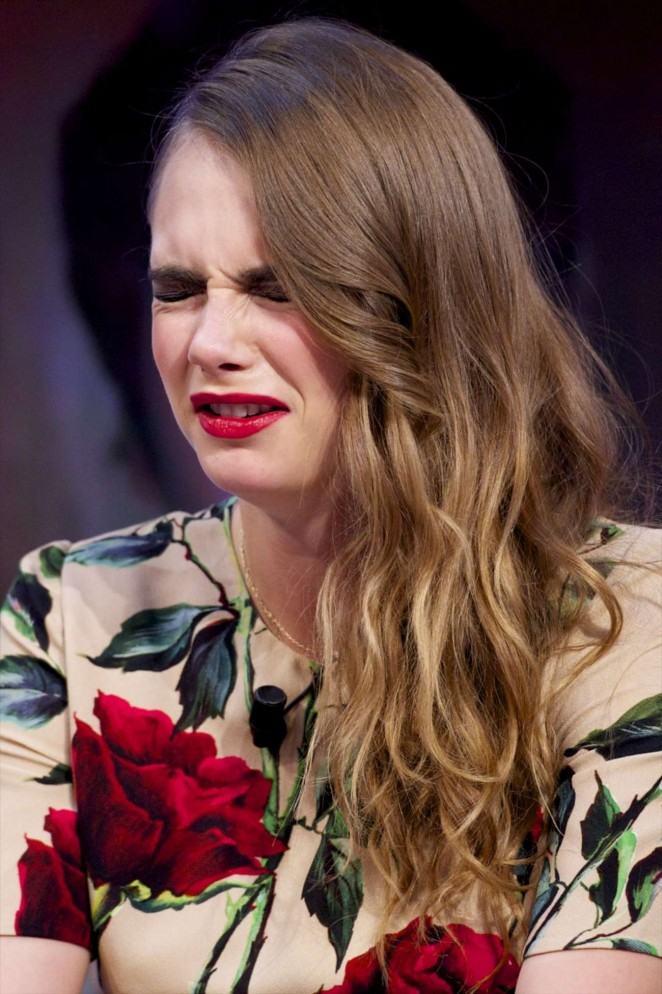 Cara Delevingne - 'El Hormiguero' Show in Madrid