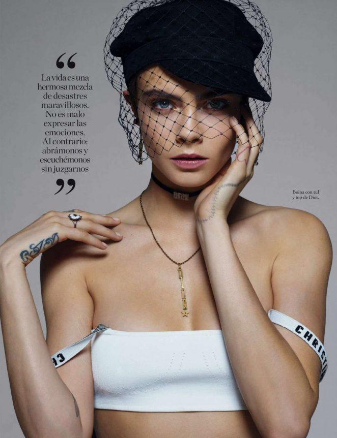 Cara Delevingne – Elle Spain Magazine (February 2018)